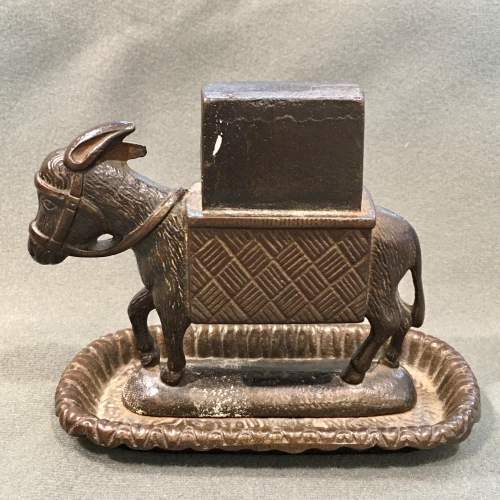 19th Century Bryant and May Cast Iron Match Holder image-2