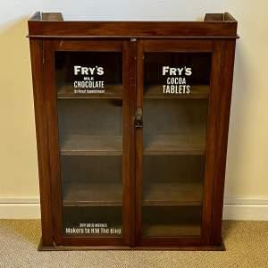 Edwardian Frys Chocolate Cabinet