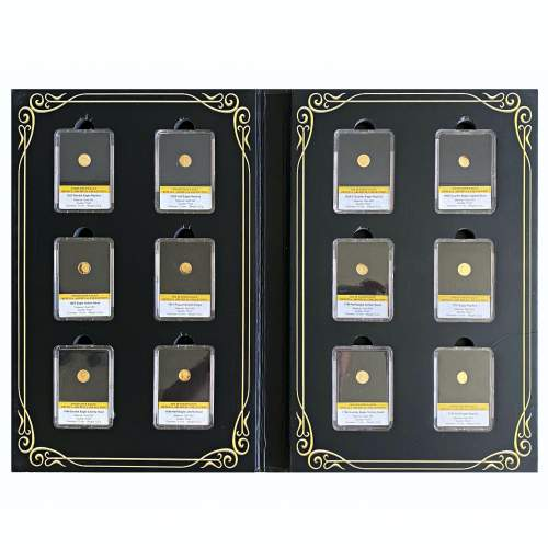 1795 - 1933 Gold Proof Eagle 12 Coin Collection image-1