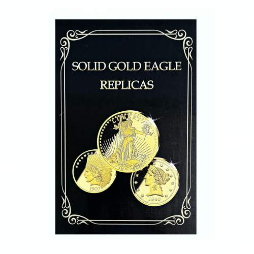 1795 - 1933 Gold Proof Eagle 12 Coin Collection image-2