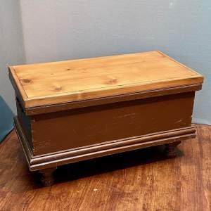 Vintage Pine Storage Box
