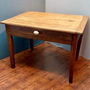 18th Century French Pine Scullery Table