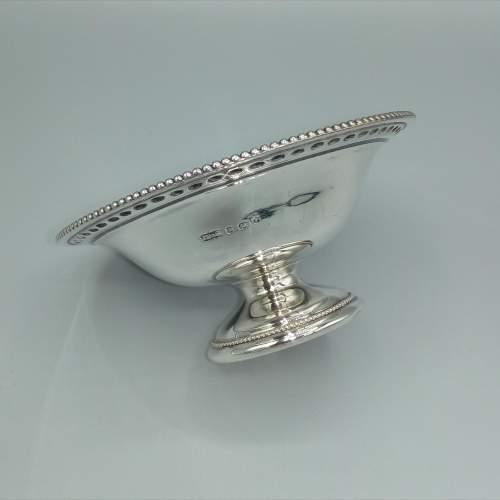 Silver Bon Bon Dish by James Dixon image-1