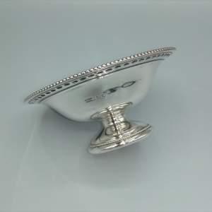 Silver Bon Bon Dish by James Dixon