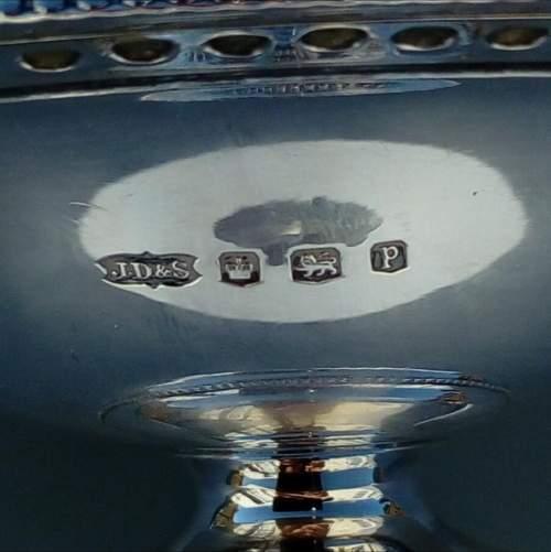 James Dixon Silver Bon Bon Dish image-6