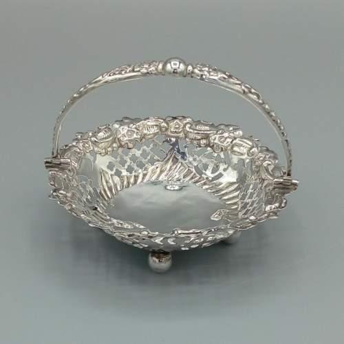 Silver Bon Bon Basket image-1