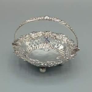 Silver Bon Bon Basket