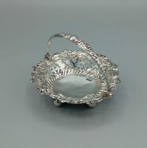 Silver Bon Bon Basket image-2