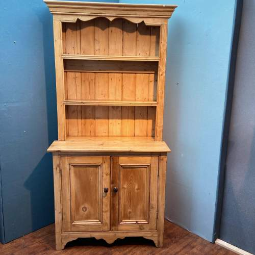 Victorian Small Pine Cottage Dresser image-1