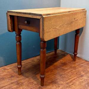 Victorian Pine Drop Leaf Table