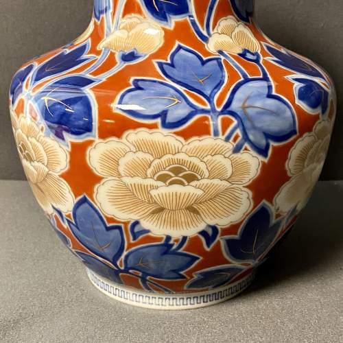 Japanese Fukagawa Porcelain Vase image-3