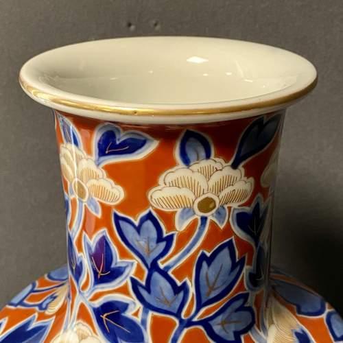 Japanese Fukagawa Porcelain Vase image-2