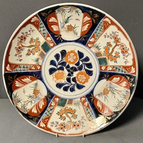 Late 19th Century Japanese Imari Charger image-1