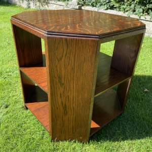 Art Deco Oak Table