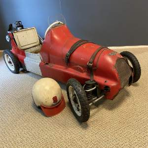 20th Century Childs Model Red Pedal Car