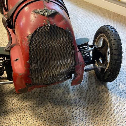 20th Century Childs Model Red Pedal Car image-2