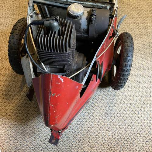 20th Century Childs Model Red Pedal Car image-3