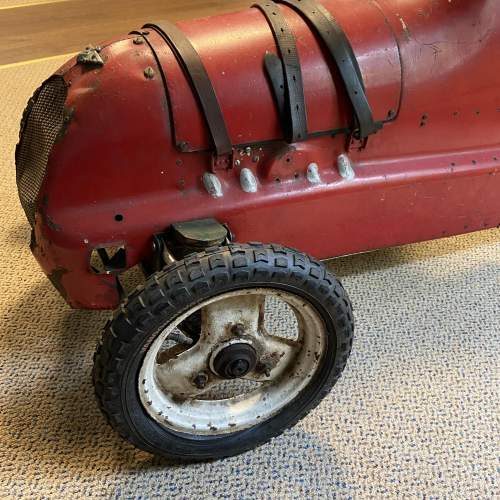 20th Century Childs Model Red Pedal Car image-4