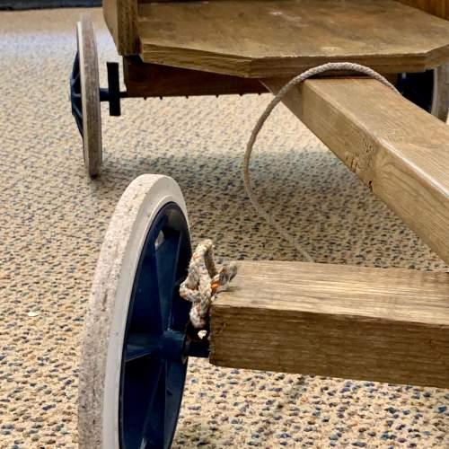 Hand Built Vintage Childs Soap Box Cart image-2