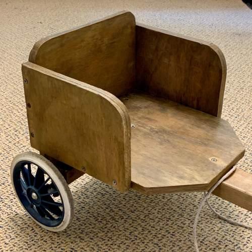 Hand Built Vintage Childs Soap Box Cart image-3