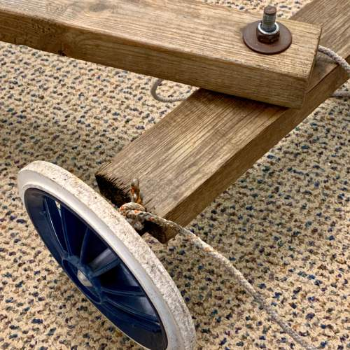 Hand Built Vintage Childs Soap Box Cart image-4