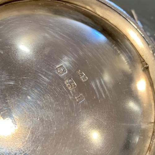 Edwardian Silver Squab Teapot image-6