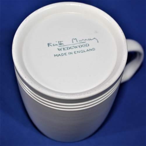 Keith Murray for Wedgwood Moonstone Pottery Mug image-4