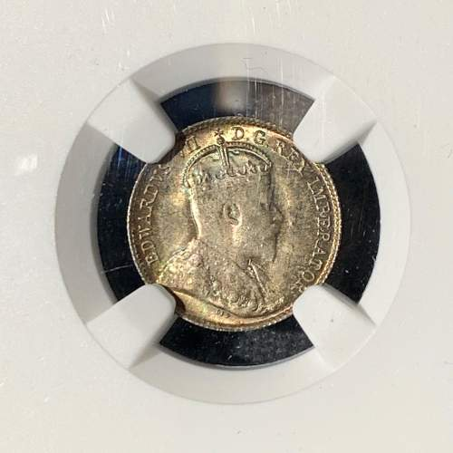 1906 Canadian 5 Cent Sterling Coin image-2