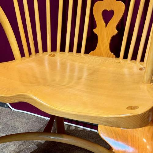 Stewart Linford Yew and Oak Windsor Chair image-3