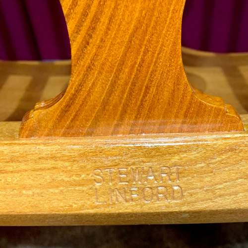 Stewart Linford Yew and Oak Windsor Chair image-6
