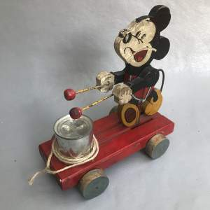 Mickey Mouse Drummer Toy