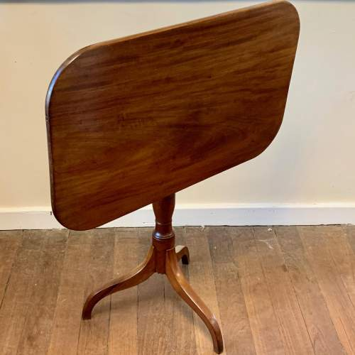 19th Century Mahogany Tilt Top Table image-3