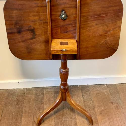 19th Century Mahogany Tilt Top Table image-4