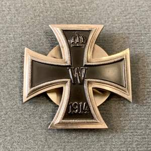 1914 Iron Cross Screw Back Badge