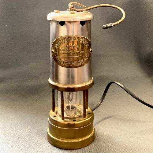 20th Century Converted Miners Lamp image-2