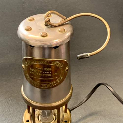 20th Century Converted Miners Lamp image-3