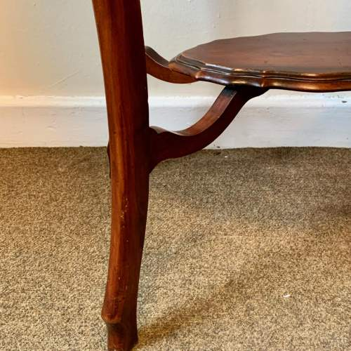 Edwardian Shaped Mahogany Side Table image-4