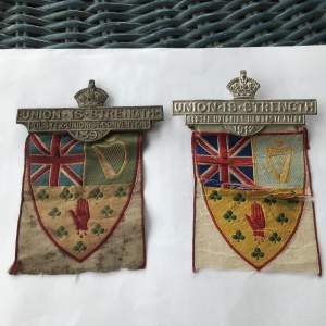 Ulster Unionist Demonstration Badges
