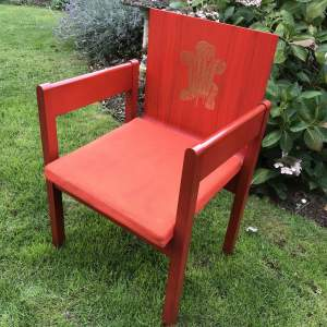 Prince Charles 1969 Investiture Armchair