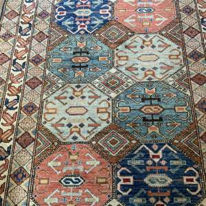 Hand Knotted Afghan Ziegler Kazak Rug