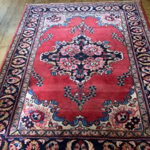 Hand Knotted Persian Rug Saruk