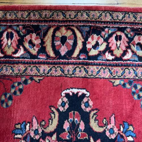 Hand Knotted Persian Rug Saruk image-5
