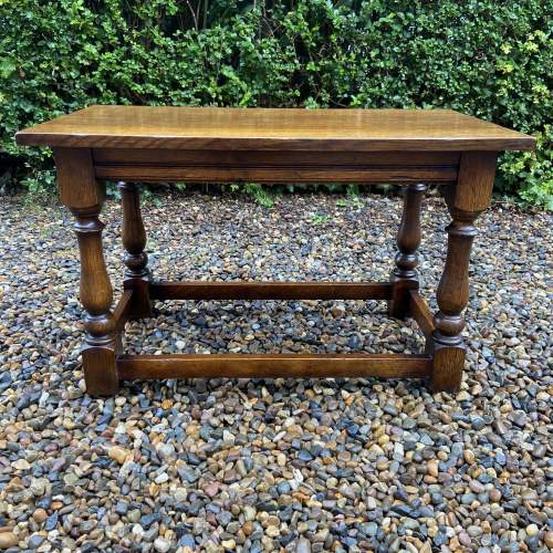 Traditional Oak Coffee Table image-2