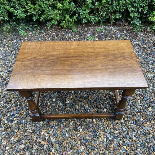 Traditional Oak Coffee Table image-3