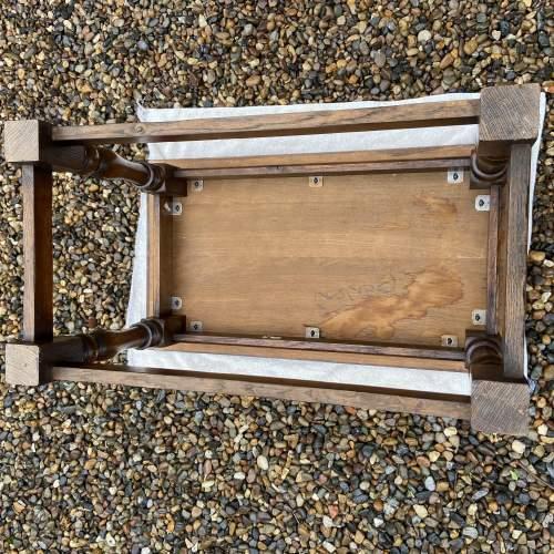 Traditional Oak Coffee Table image-5