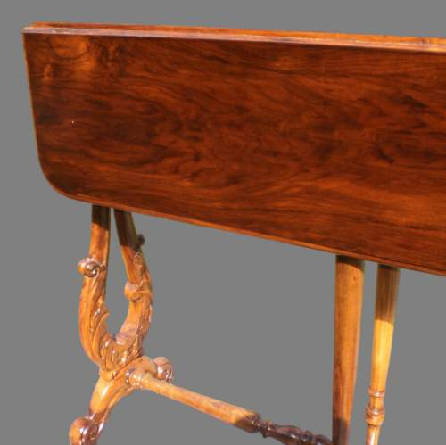 19th Century Walnut Sutherland Table image-4