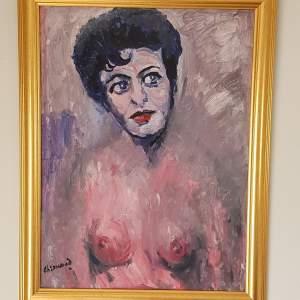Elsie Tanner Portrait by James Lawrence Isherwood