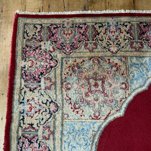 A Stunning Hand Knotted Persian Kerman Rug image-3
