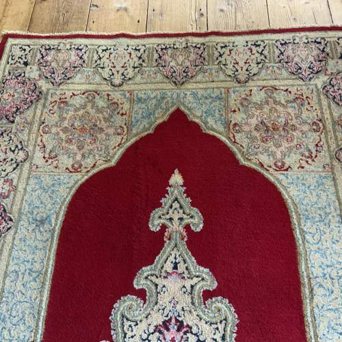 A Stunning Hand Knotted Persian Kerman Rug image-5