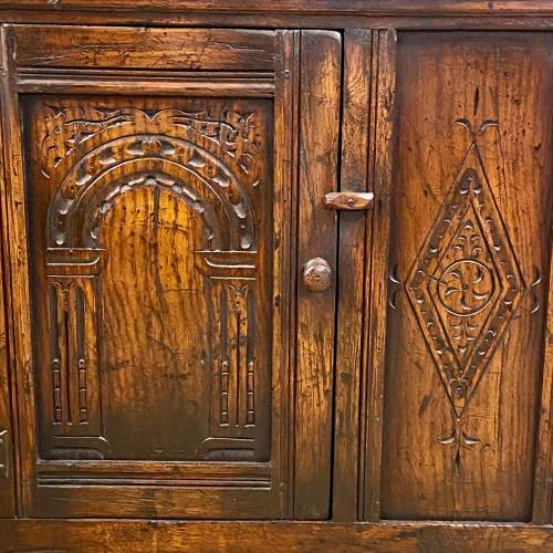 20th Century Oak Dwarf Dresser image-4